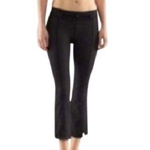 Lululemon Belt It Out Crop Pants Charcoal Gray